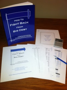 Fight Back From Big Debt Workbook
